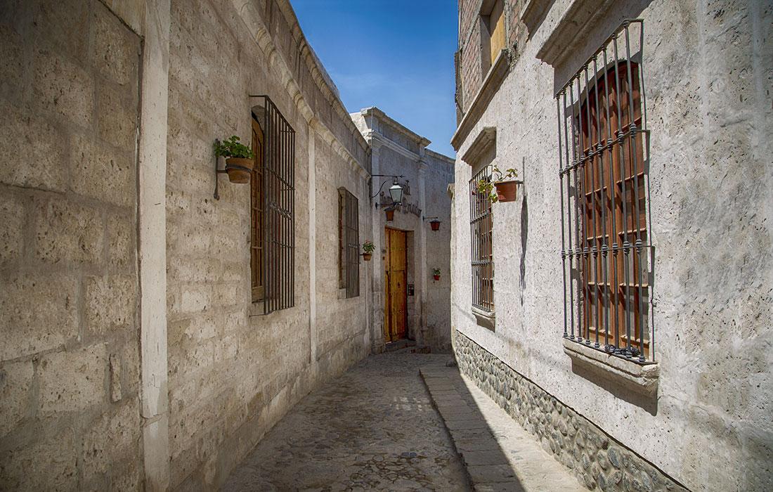 Arequipa, Barrio de San Lázaro