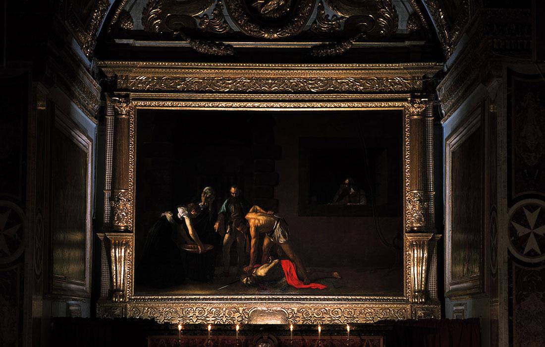 Malta. La decapitación de San Juan Bautista