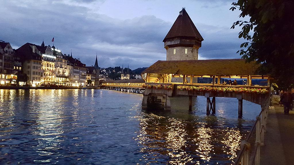 Puente medieval de Lucerna