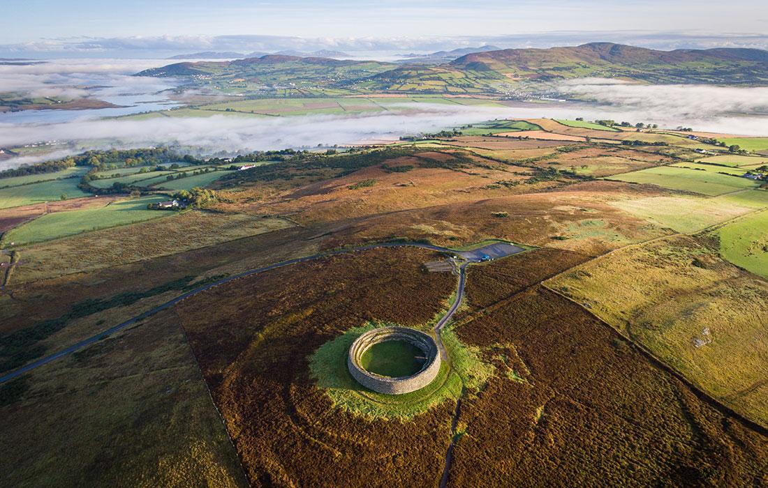 Irlanda. Grianan Aileach
