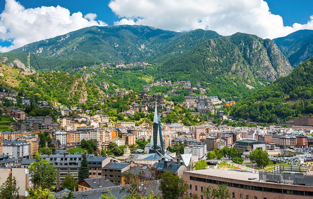 destinos económicos. Andorra