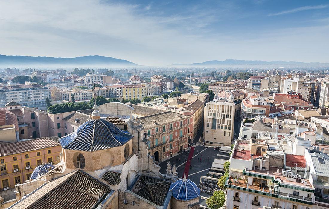 Murcia. Destinos economicos