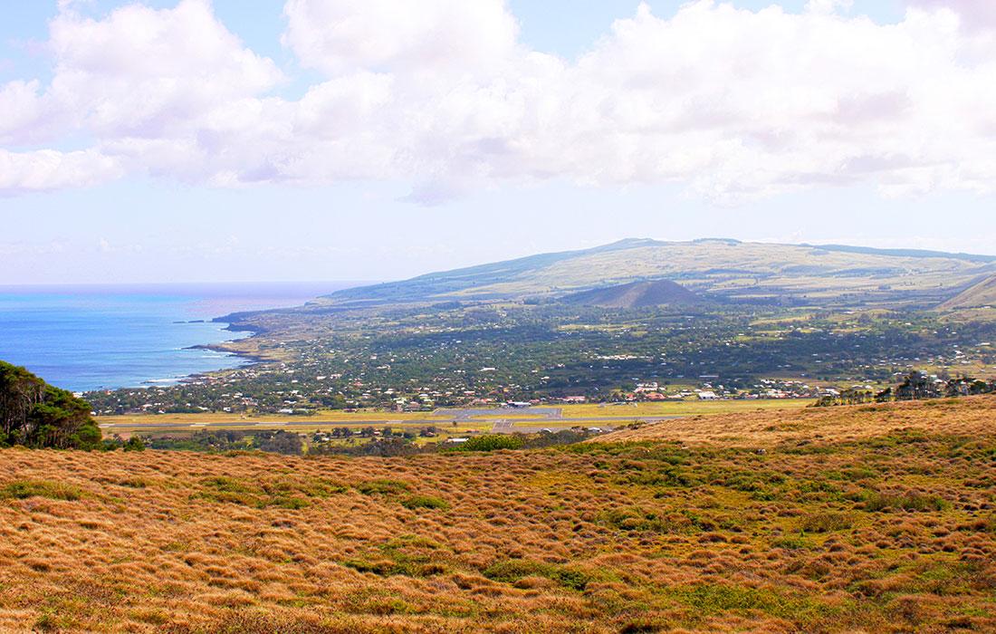 Isla de Pascua. Hanga Roa