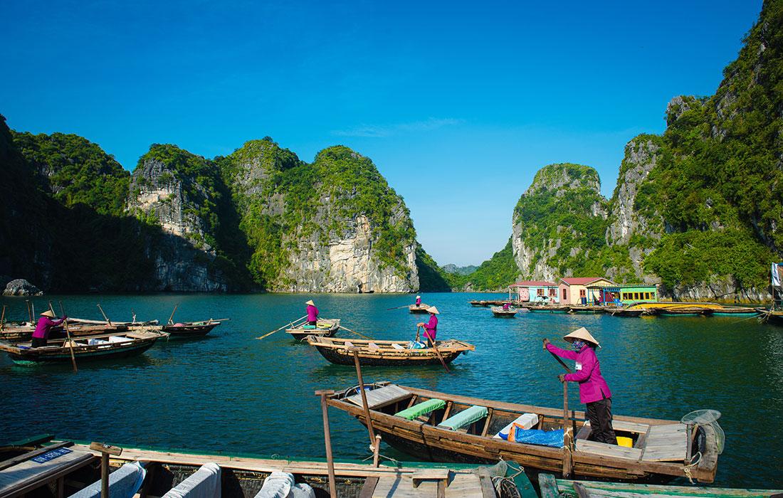Vietnam. bahía de Halong