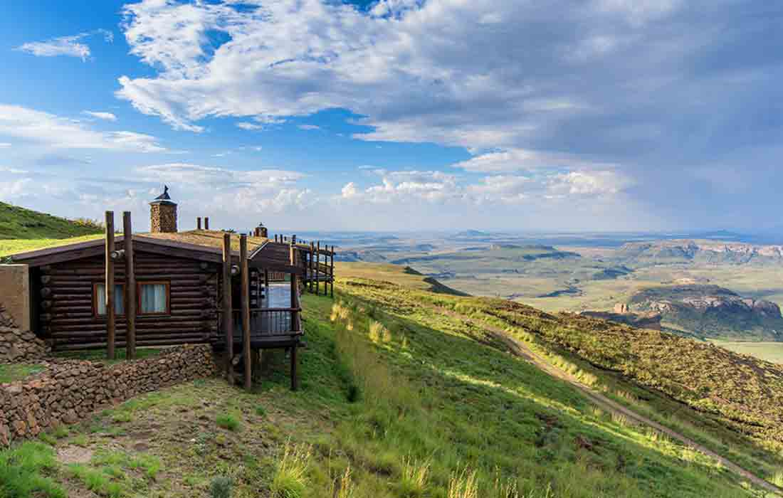 Sudafrica turismo. Mountain Retreat
