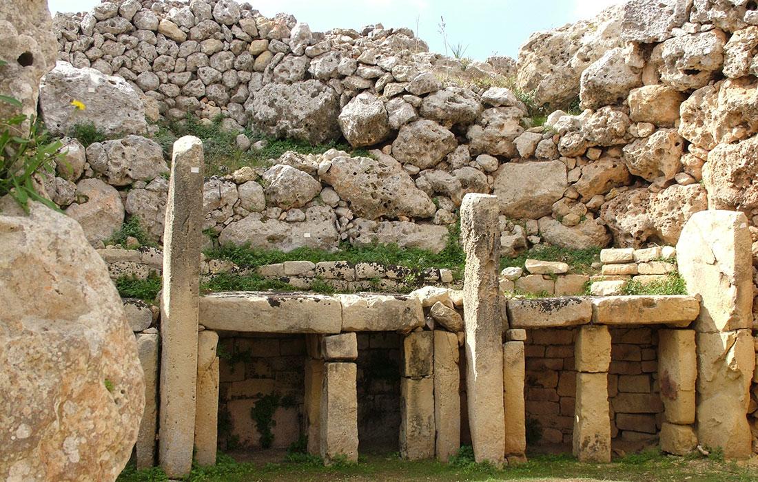 Malta. Templos De Ġgantija