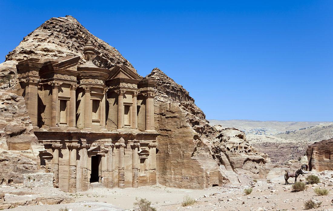 la ciudad de Petra