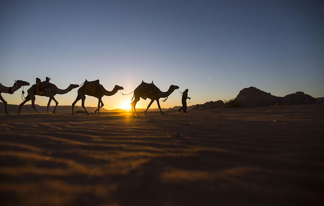 Visitar Jordania. el desierto de Wadi Rum
