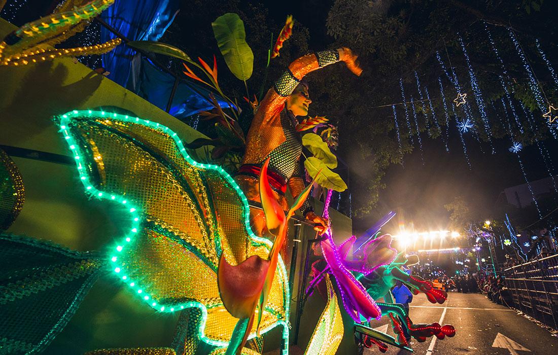 Costa Rica. Festival de la luz
