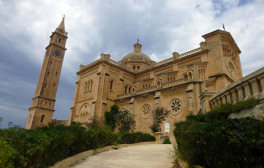 Iglesias de Malta. Basílica de Ta'Pinu