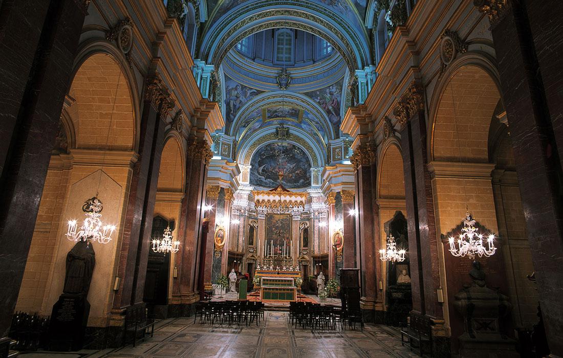 Iglesias de Malta. Catedral de San Pablo