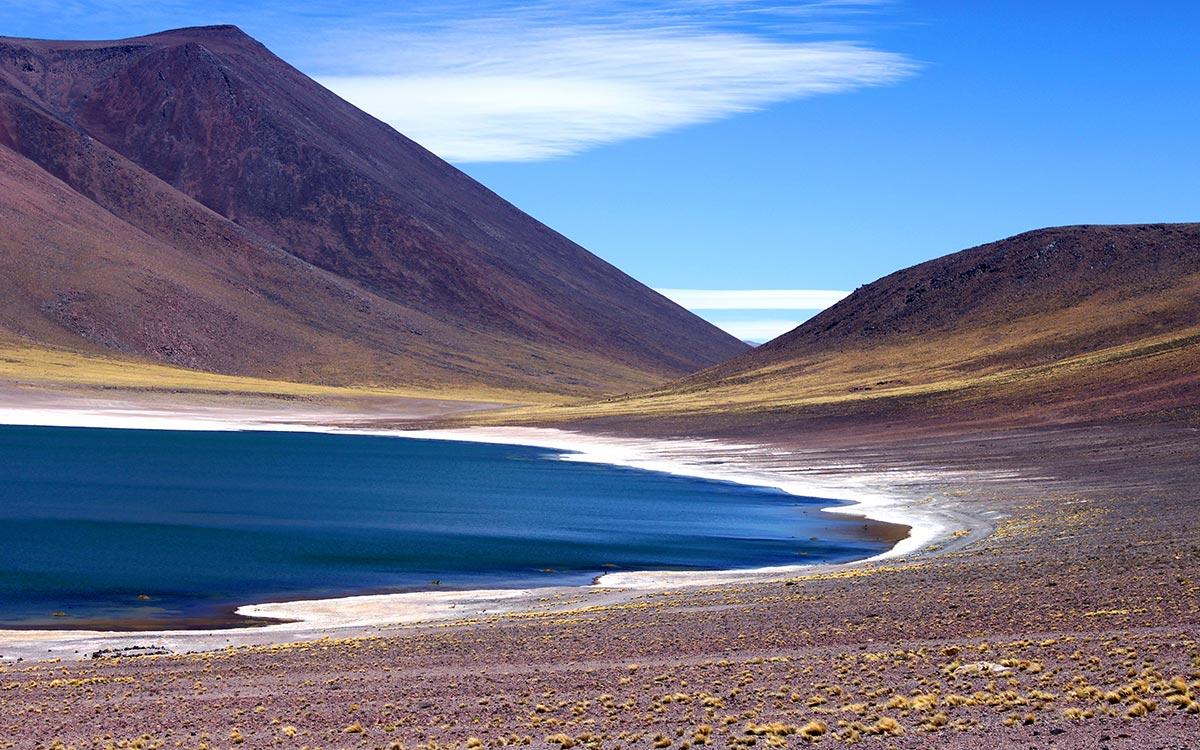 Desierto de Atacama. Laguna Miñeques