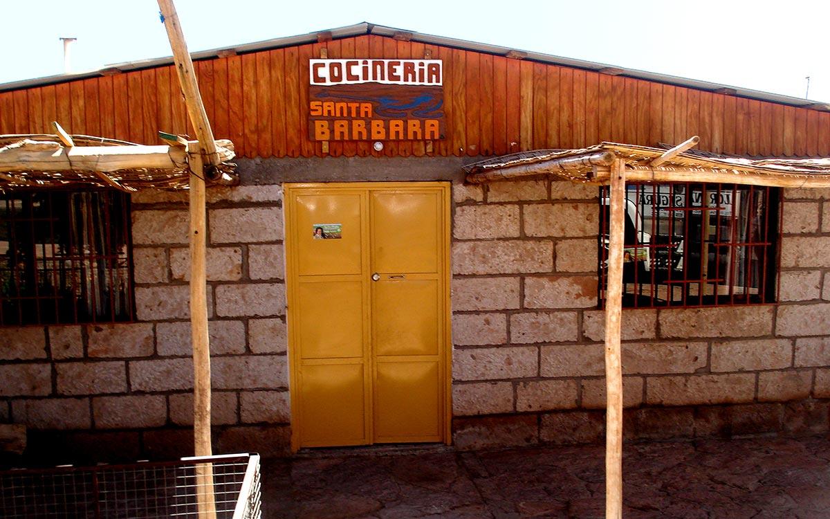 Casa particular de comidas en Socaire