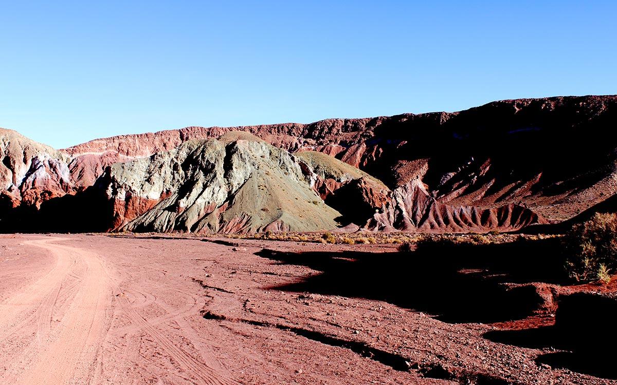 Desierto de Atacama. Valle Arco Iris