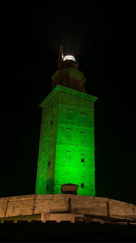 San Patricio. la Torre de Hércules