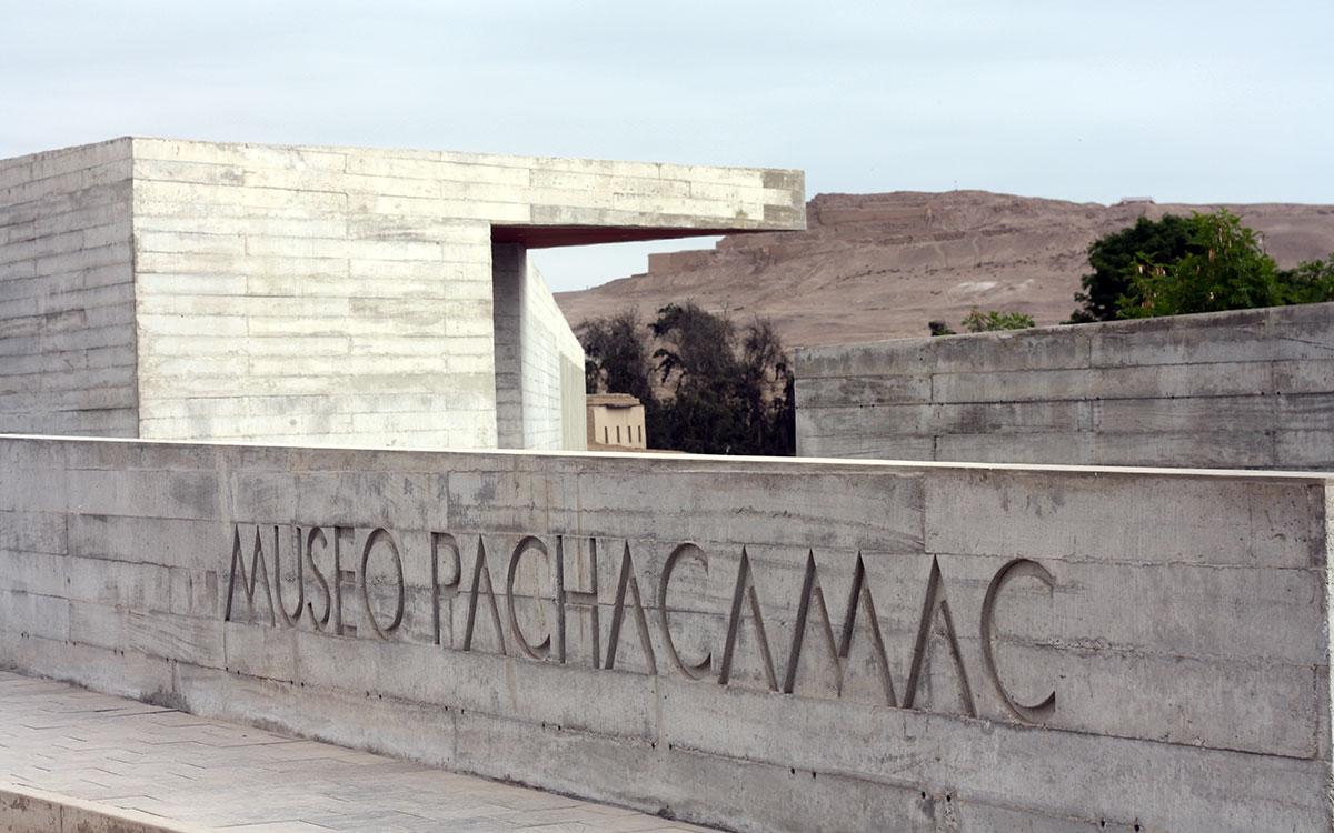 Visitar Perú. Museo Pachacamac