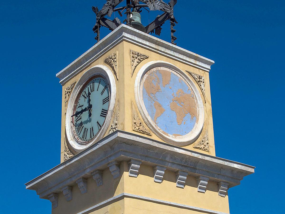 Tarragona. El reloj del puerto
