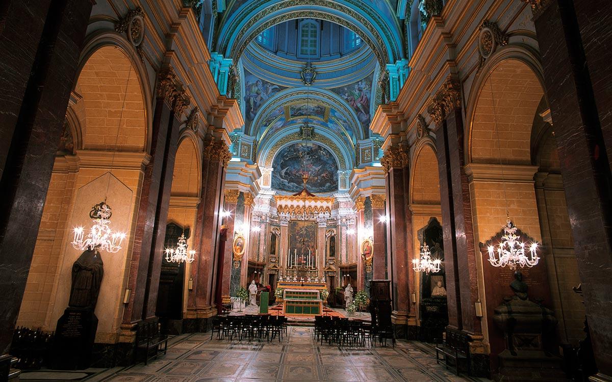 Catedral De San Pablo. Mdina