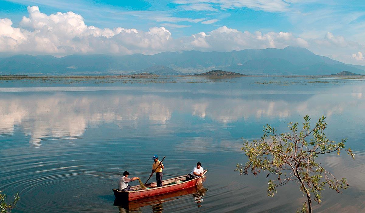 El lago de Cuitzeo