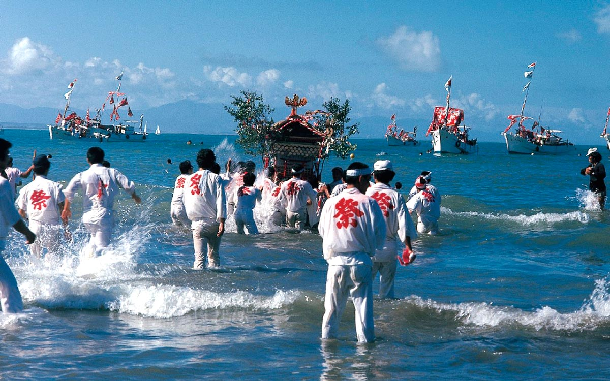 Miyazaki, Festival del Agua
