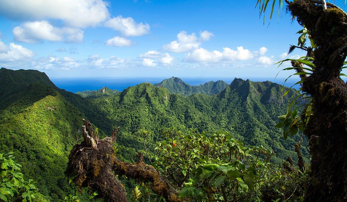 Montaña sagrada de Rarotonga