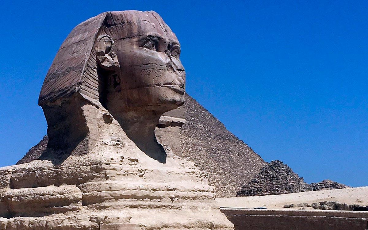 Visitar Egipto. La Gran Esfinge de Guiza