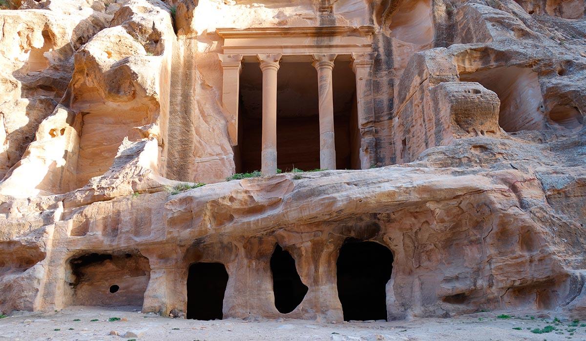 Visitar jordania. La pequeña Petra