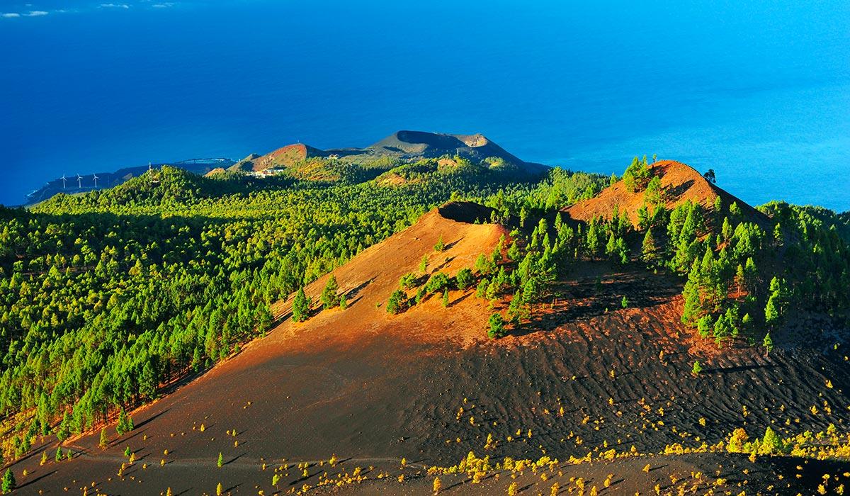 La Palma. Volcanes