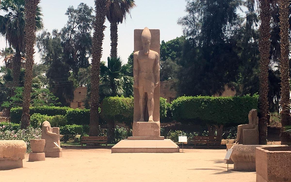 Visitar Egipto. Menphis