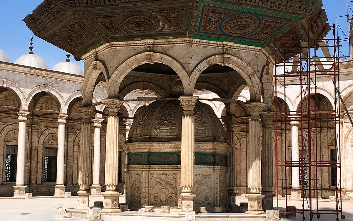 Visitar Egipto. Mezquita de Alabastro