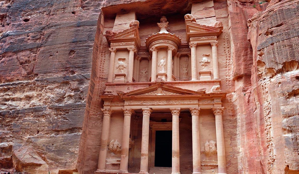Visitar Jordania. Petra
