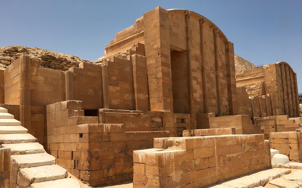 Visitar Egipto. Sakkara