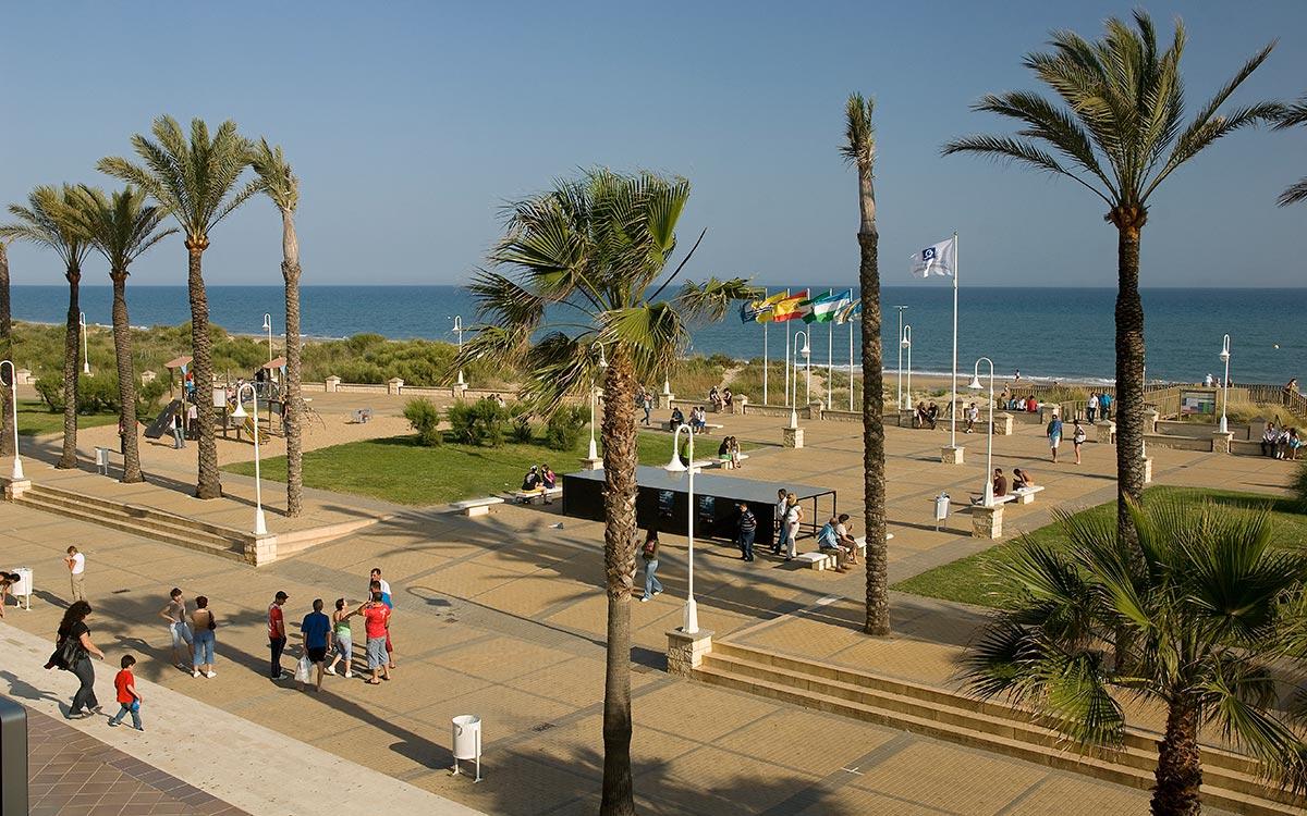 vacaciones en Huelva. playa de Islantilla