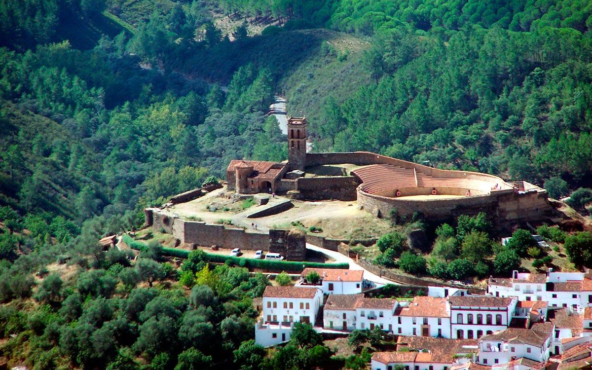 vacaciones en Huelva. Almonaster la Real