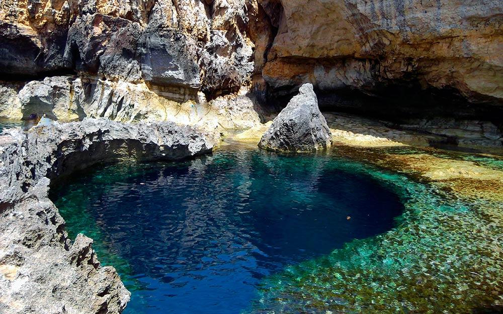 Bucear en Malta. Blue Hole de Gozo