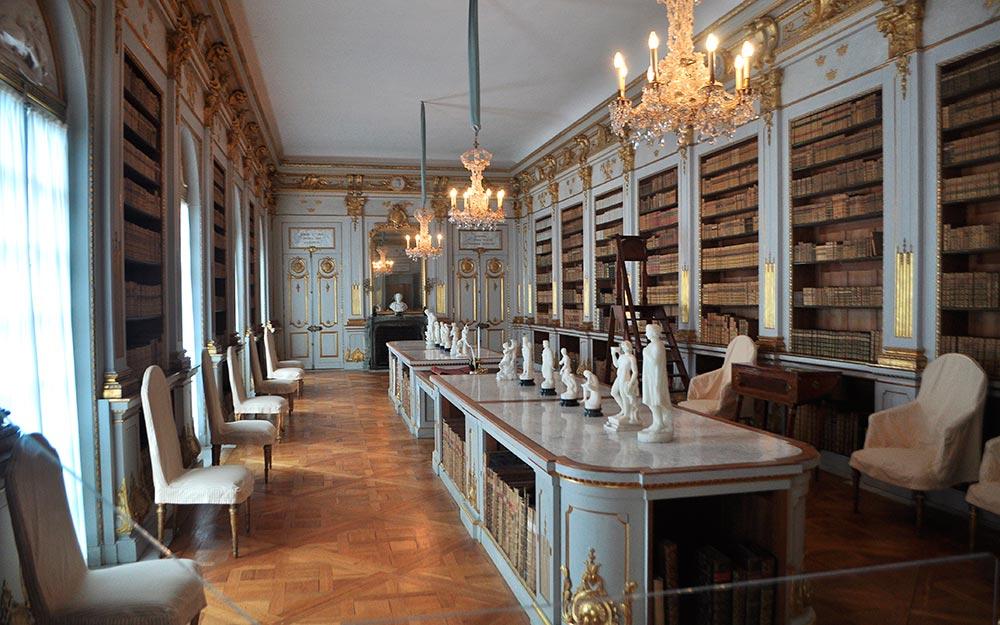 viaje a Estocolmo. Drottningholm, la biblioteca