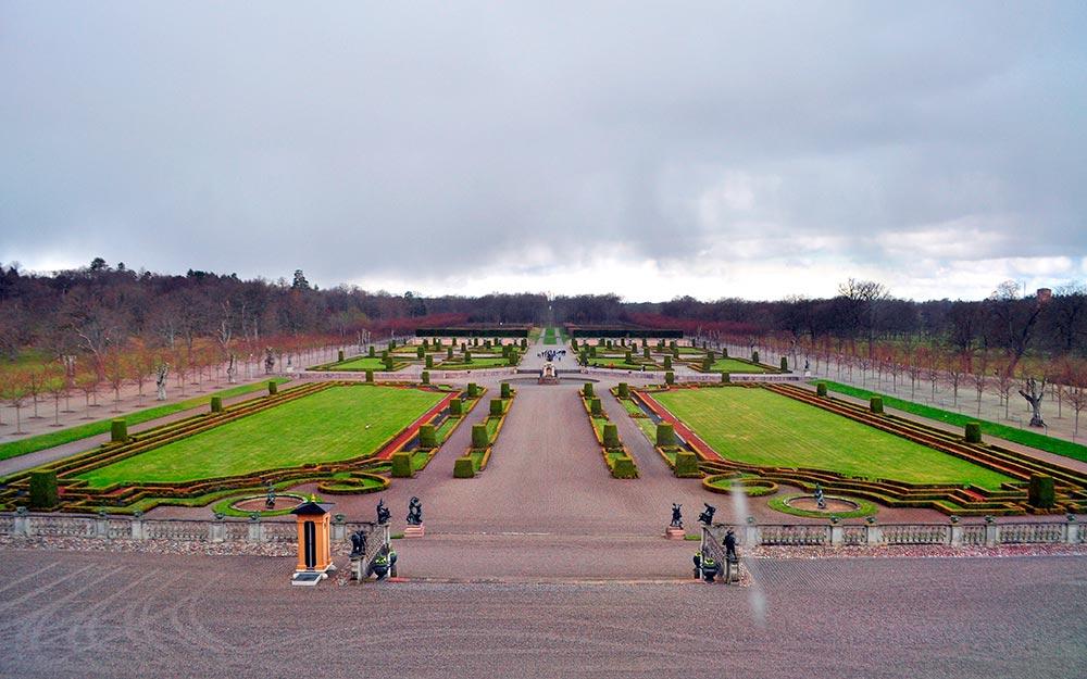 Drottningholm, los jardines