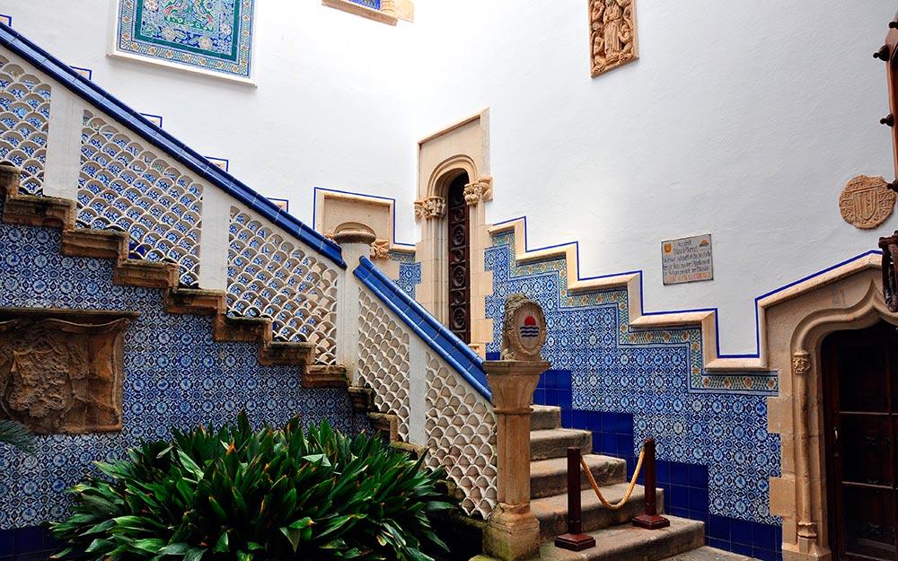 Interiores del Palau de Maricel