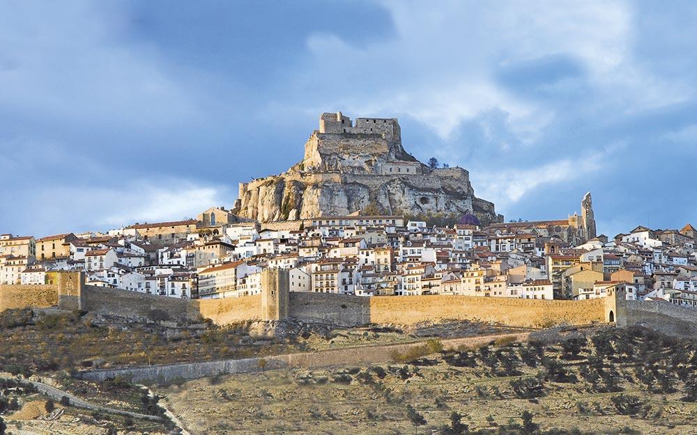 Camino del Cid. Morella, Castellón