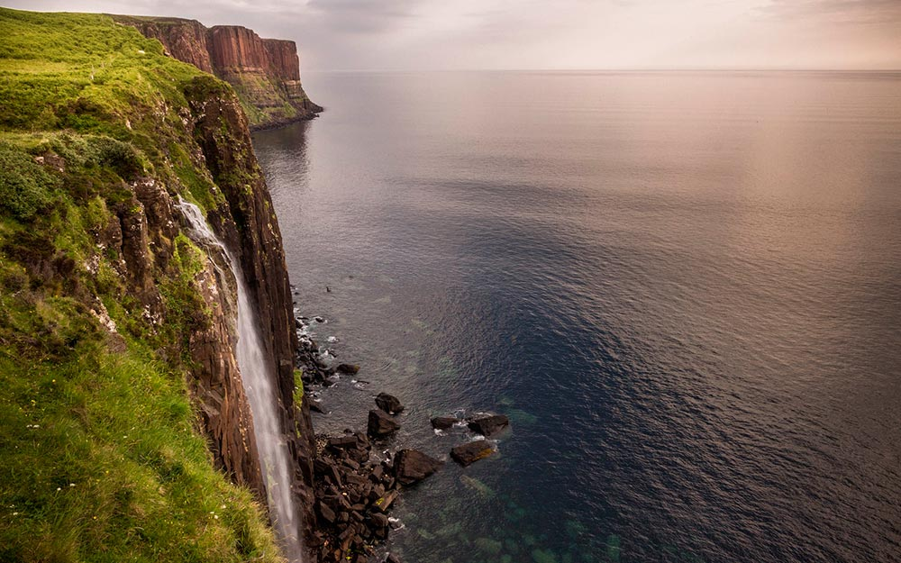 Isla de Skye. Kilt Roc