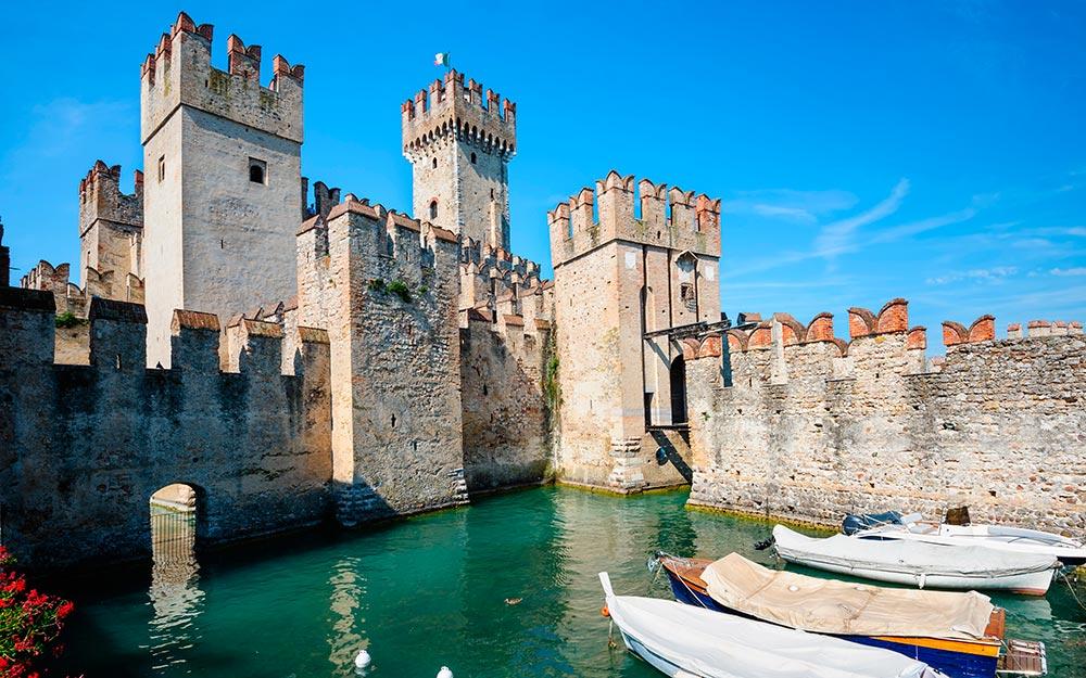 Castillo de Sirmione (Italia)