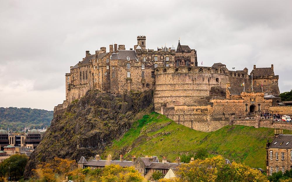 Castillo de Edimburgo (Reino Unido)