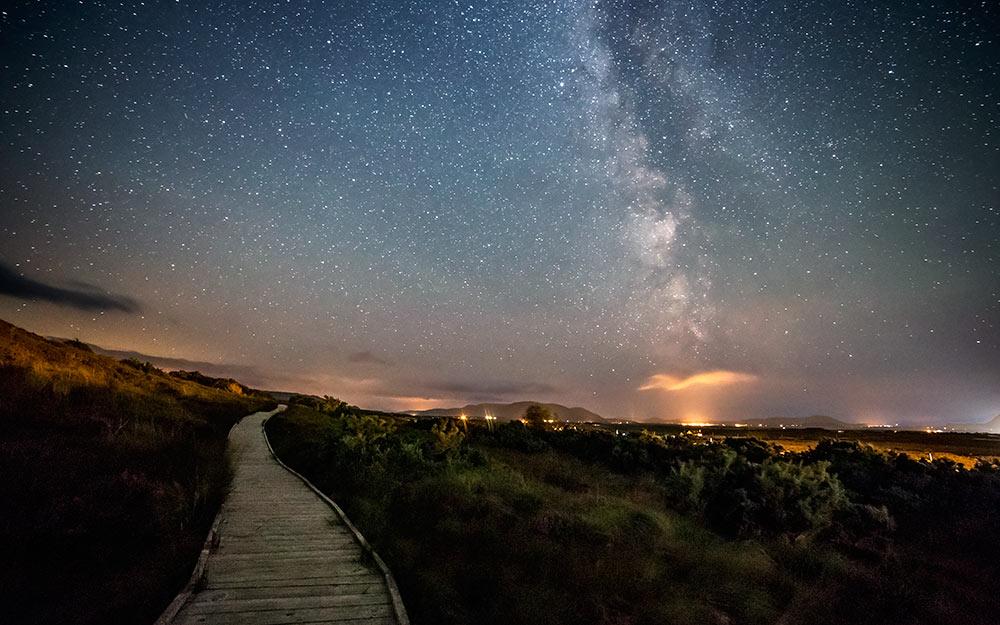 cielo de Irlanda