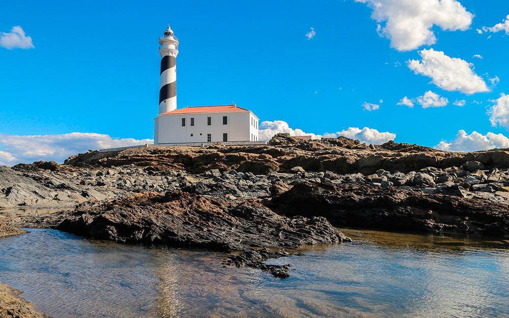 siete faros de Menorca