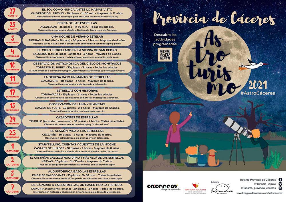 astroturismo en Cáceres